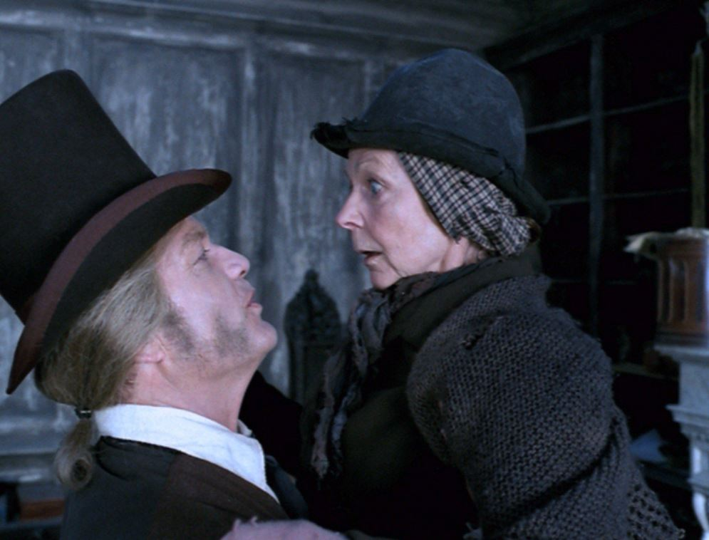 Kelsey Grammer and Sheila Reid in A Christmas Carol (2004)
