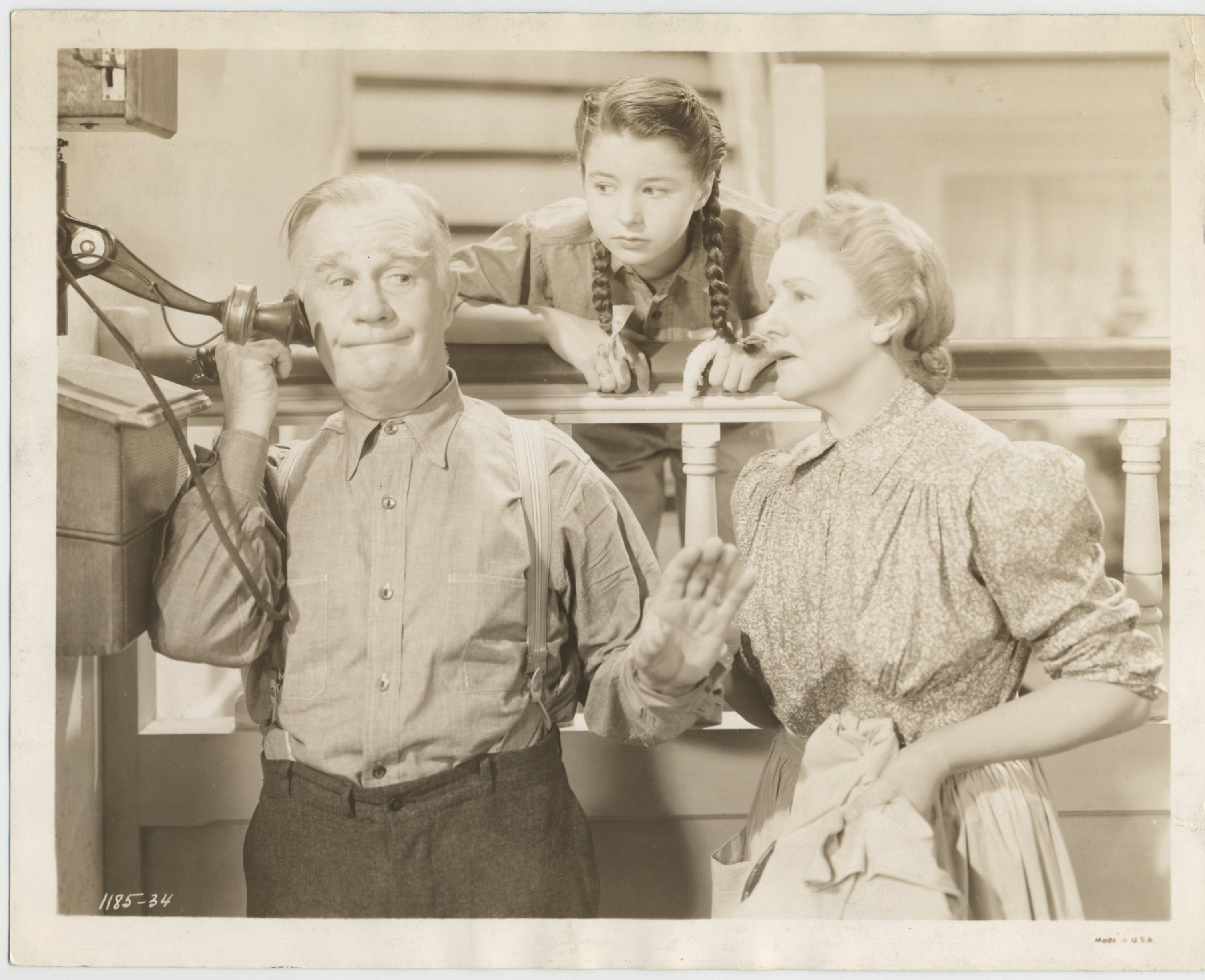 Fay Holden, Henry Travers, and Virginia Weidler in I'll Wait for You (1941)
