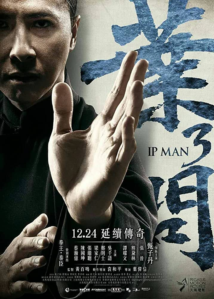 Ip Man 3 2015 Chinese (Hindi HSubs) 720p BluRay x264 850MB