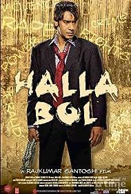 Ajay Devgn in Halla Bol (2008)