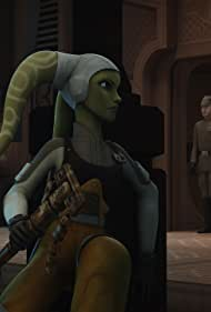 Vanessa Marshall, Lars Mikkelsen, André Sogliuzzo, and Taylor Gray in Star Wars: Rebels (2014)