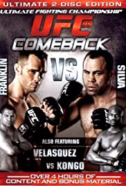 UFC 99: The Comeback Poster