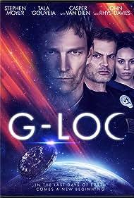 Casper Van Dien, Stephen Moyer, John Rhys-Davies, and Tala Gouveia in G-Loc (2020)