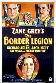 The Border Legion Poster