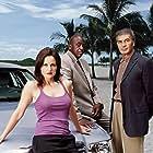 Robert Forster, Carla Gugino, and Bill Duke in Karen Sisco (2003)