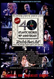 Atlantic Records 40th Anniversary: It's Only Rock 'n' Roll Poster