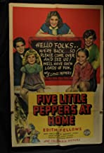 Five Little Peppers at Home