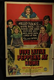 Five Little Peppers at Home Poster