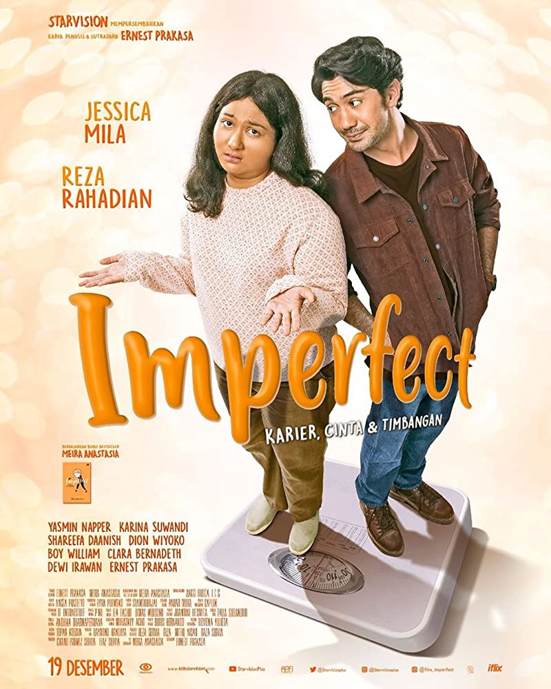Poster Film Imperfect (2019)