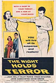 Vince Edwards, Charles Herbert, Jack Kelly, Hildy Parks, and Nancy Zane in The Night Holds Terror (1955)