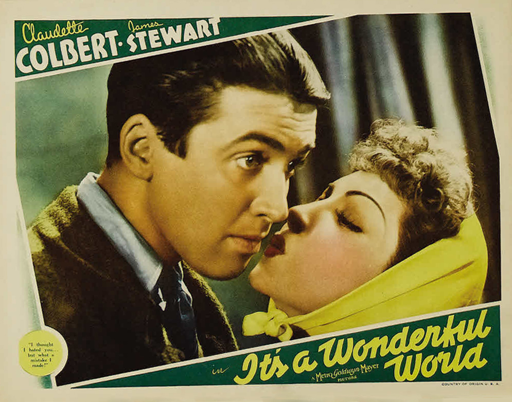 Image result for it's a wonderful world 1939 poster