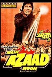 Main Azaad Hoon(1989) Poster - Movie Forum, Cast, Reviews