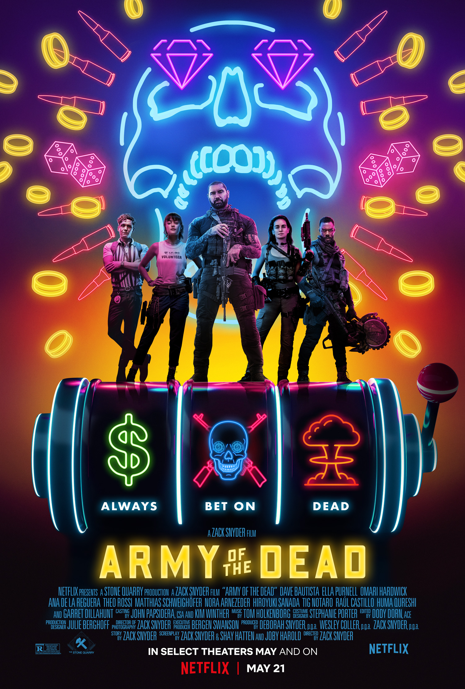 Army of the Dead – Zack Snyder 2021 Hindi Dubbed Official Trailer Netflix Movie 1080p HDRip Download