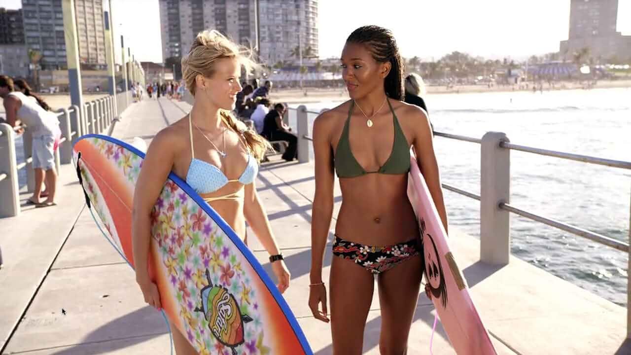 Elizabeth Mathis and Sasha Jackson in Blue Crush 2 (2011)
