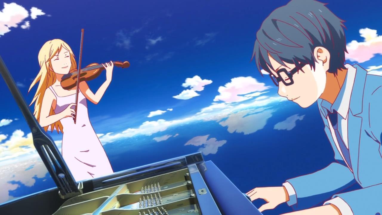 Kết quả hình ảnh cho Shigatsu wa Kimi no Uso (Your Lie in April) anime