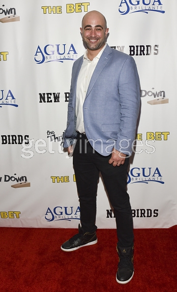 Reza Riazi at an event for The Bet (2016)