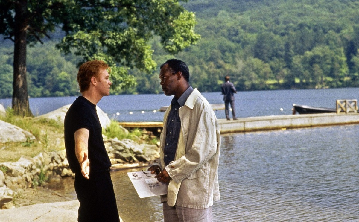 Samuel L. Jackson and David Caruso in Kiss of Death (1995)