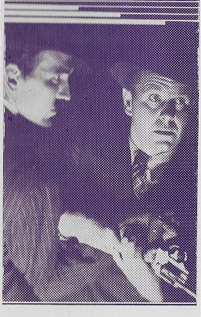Gordon Griffith and Regis Toomey in Bars of Hate (1935)