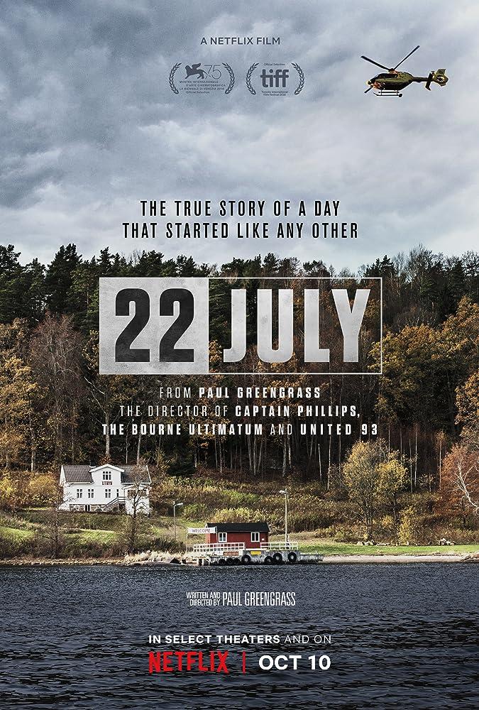 De Netflix film 22 July laat zien wat een aanslag kan doen met de levens van de slachtoffers