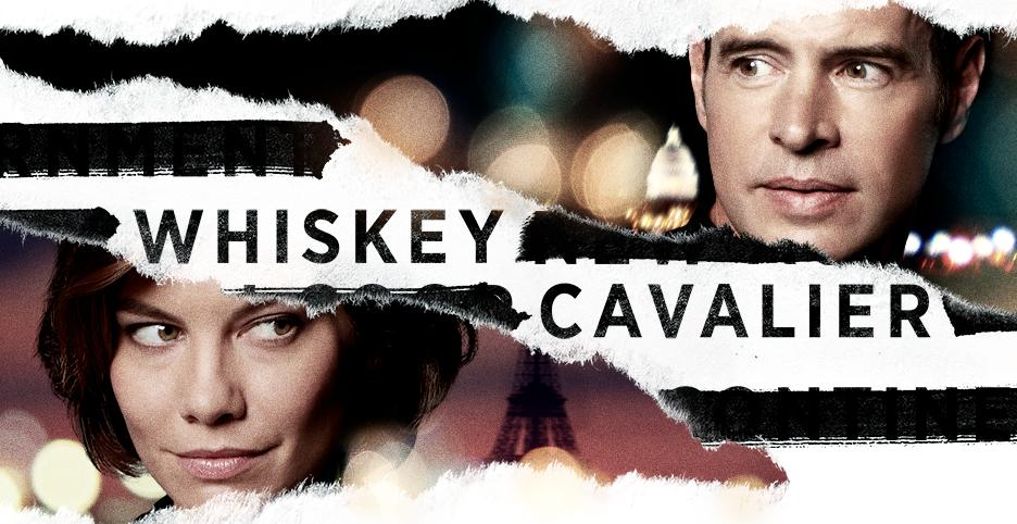 Scott Foley and Lauren Cohan in Whiskey Cavalier (2019)