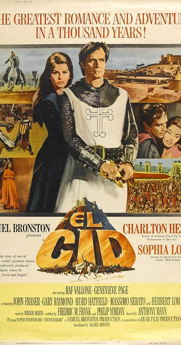 El Cid (1961) - IMDb