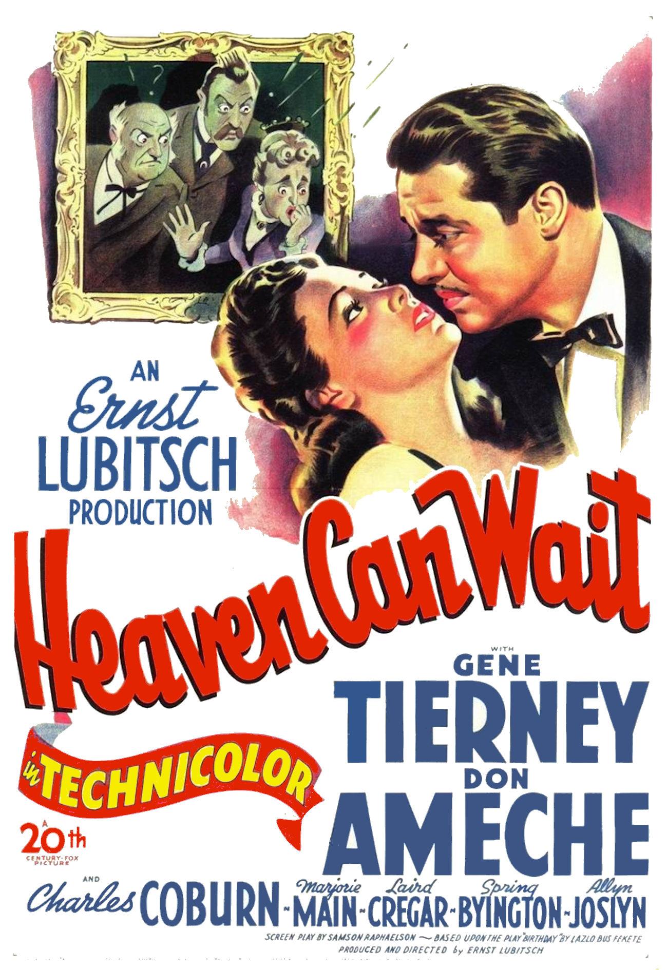 Heaven Can Wait 1943 Imdb