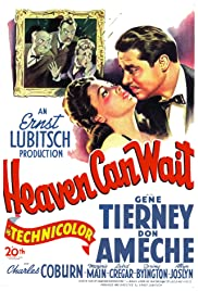 Heaven Can Wait (1943) Poster - Movie Forum, Cast, Reviews