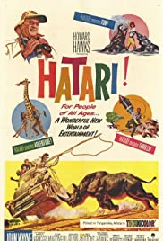 Hatari! (1962) Poster - Movie Forum, Cast, Reviews