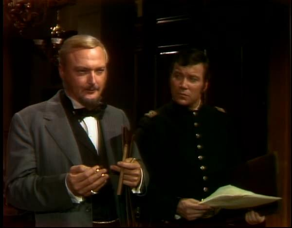 William Shatner and Jack Cassidy in The Andersonville Trial (1970)
