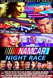 NAMCAR Night Race Poster