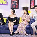 Rasika Dugal, Ali Fazal, Divyendu Sharma, and Shweta Tripathi in Baba Ki Chowki (2016)