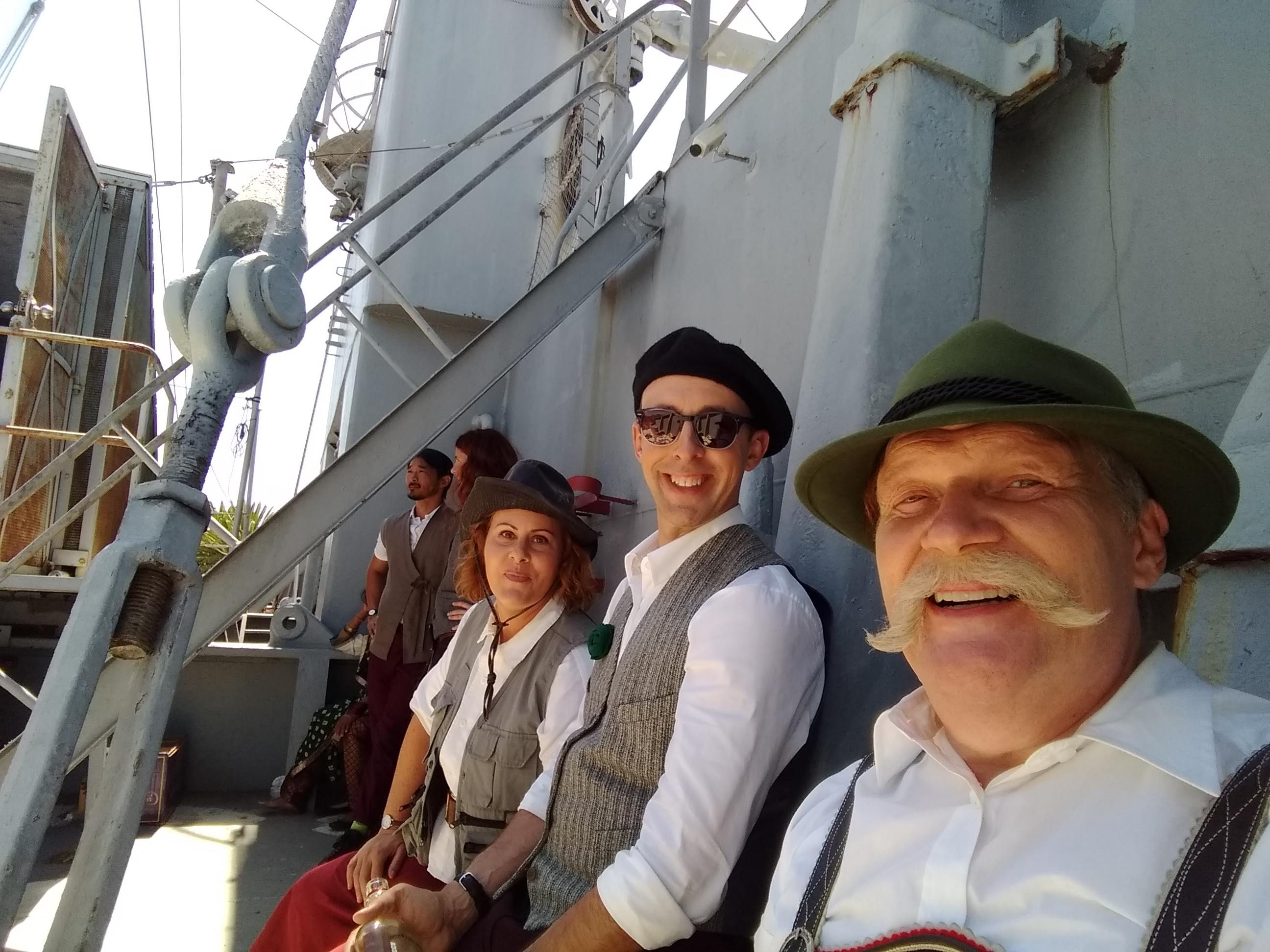 On a merchant marine ship