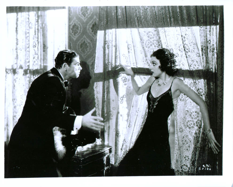 Ann Dvorak and Paul Muni in Scarface: The Shame of the Nation (1932)