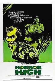 Horror High(1973) Poster - Movie Forum, Cast, Reviews