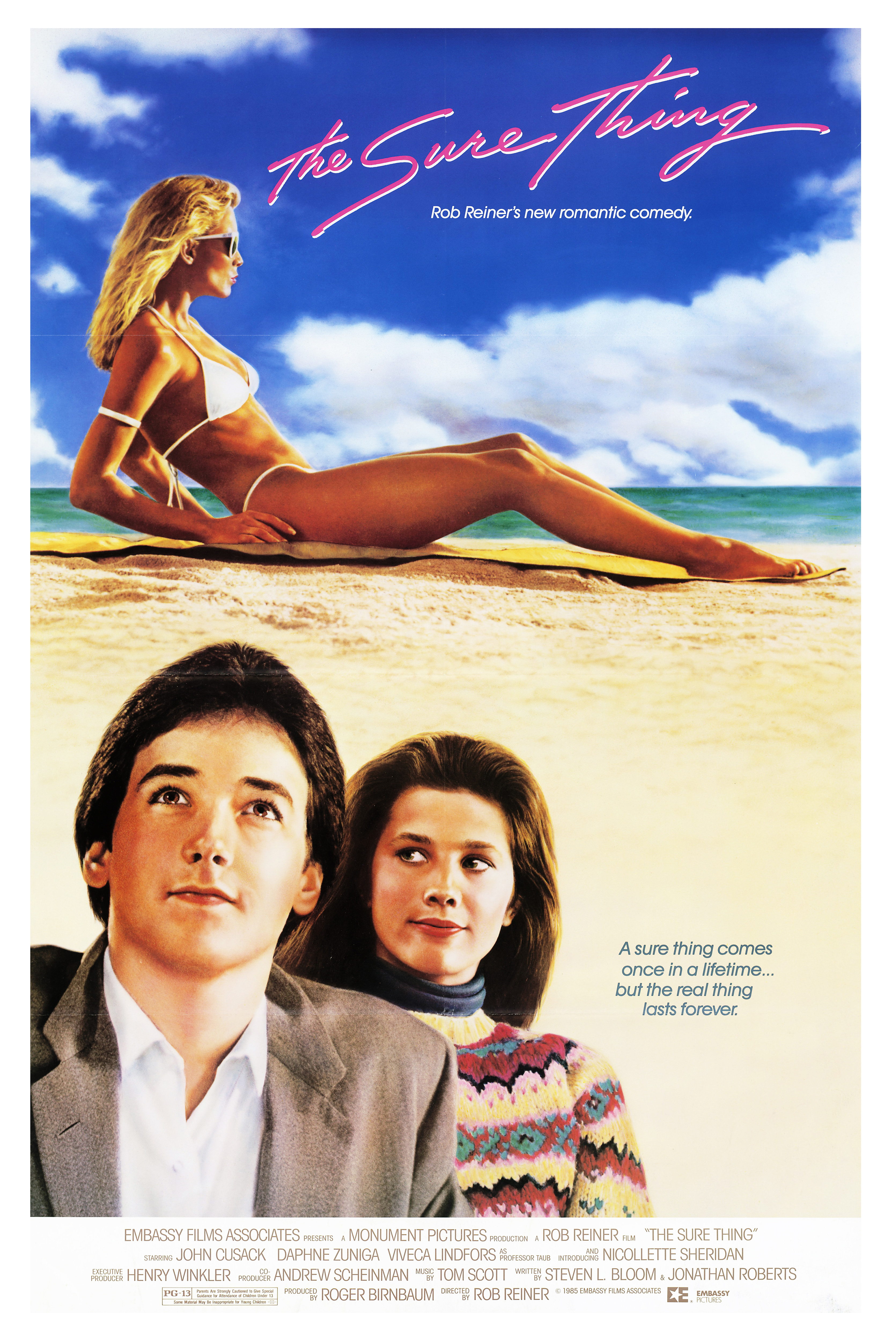 Demi Moore A LICENSED USA NEW One Crazy Summer Movie POSTER 27 x 40 John Cusack