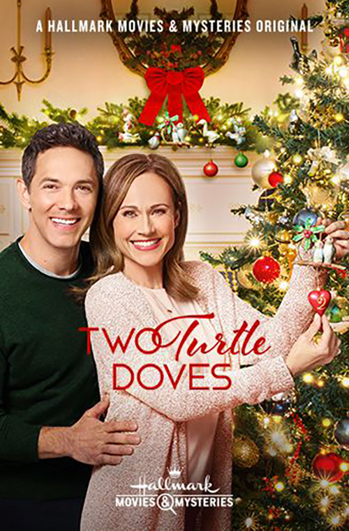 Nikki Deloach and Michael Rady in Two Turtle Doves (2019)
