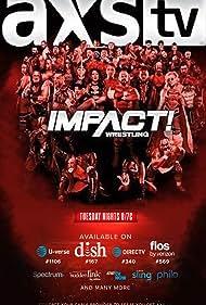 Kurt Angle, Mike Tenay, A.J. Styles, Gail Kim, Joe Seanoa, Chris Parks, Jeremy Fritz, Bobby Roode, and James Cox in TNA iMPACT! Wrestling (2004)