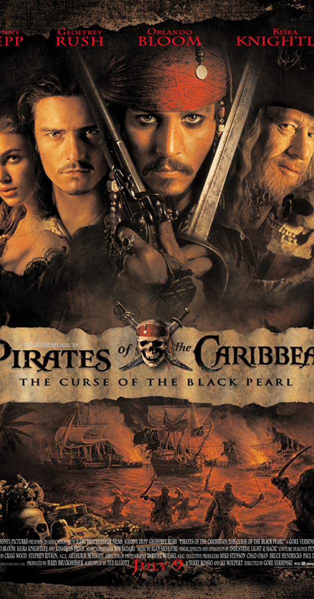 pirates of the caribbean 1 in hindi kickass