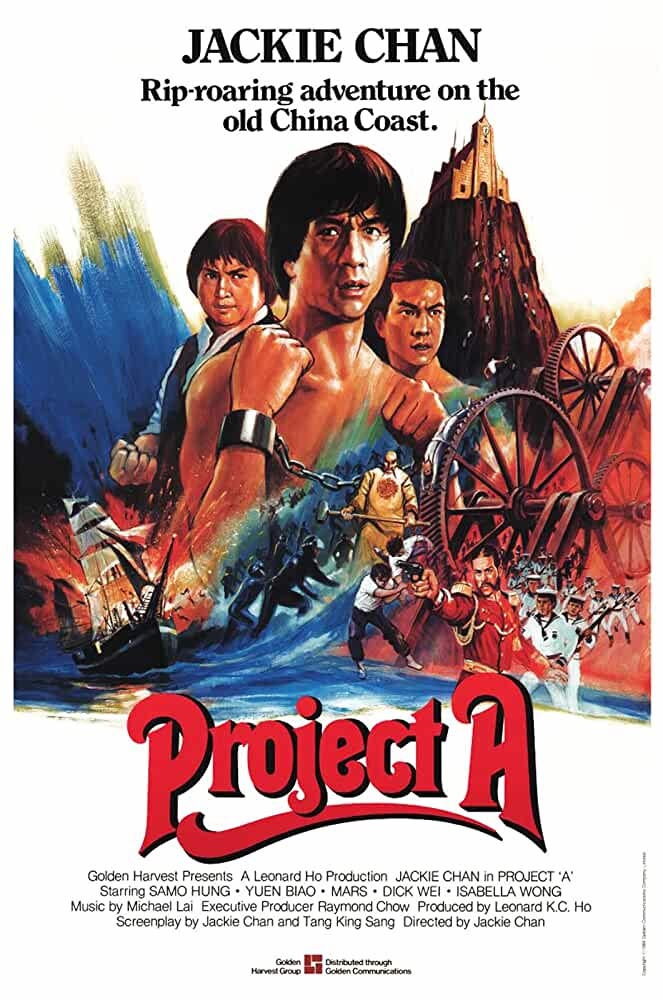 Project A (1983) Hindi Dubbed