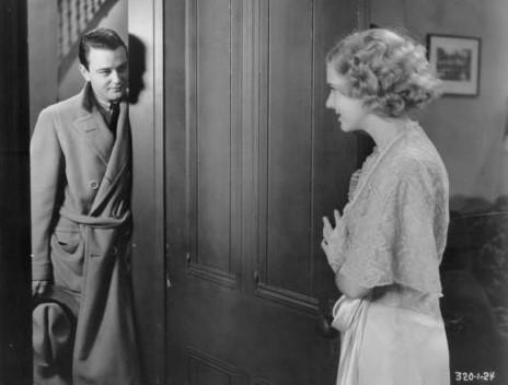 Lew Ayres and Mae Clarke in The Impatient Maiden (1932)
