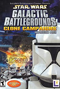 Primary photo for Star Wars: Galactic Battlegrounds - Clone Campaigns