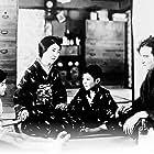 Tokihiko Okada, Hideo Sugawara, Hideko Takamine, and Emiko Yagumo in Tôkyô no kôrasu (1931)