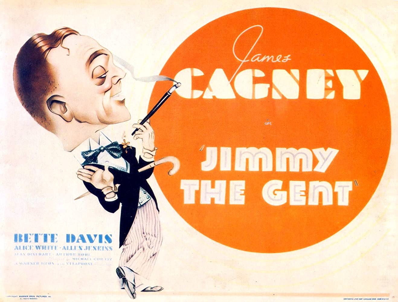 James Cagney in Jimmy the Gent (1934)