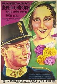 Liebe in Uniform Poster
