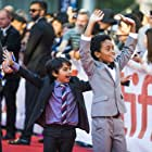 """Reece Cody and Callan Farris attend the 2017 Toronto International Film Festival for the World Premiere of """"Kings""""."""