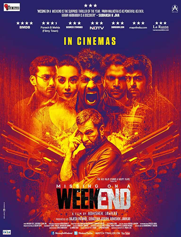 Missing on a Weekend 2016 720p HDRip Hindi Full Movie x264 AAC ESubs Bollywood Movie [850MB]