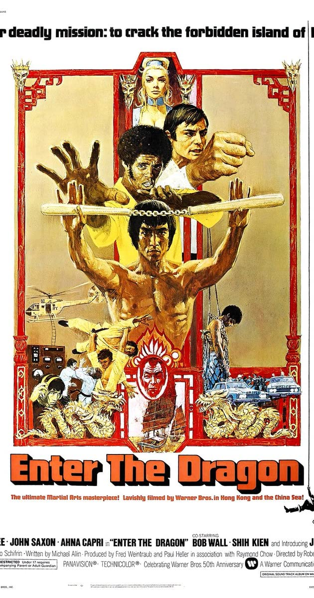 Subtitle of Enter the Dragon