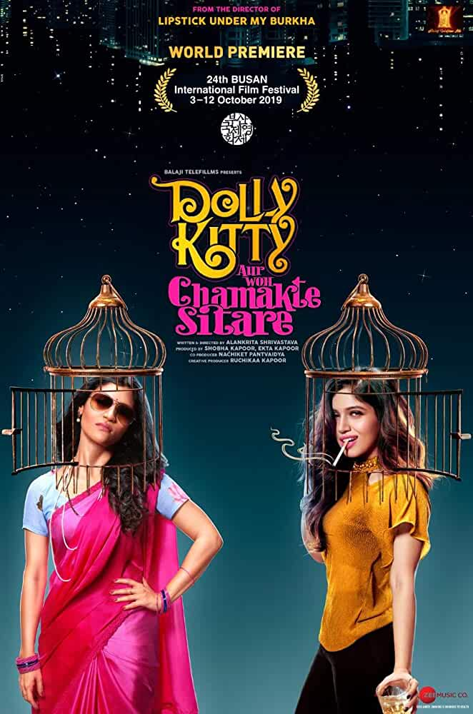 Dolly Kitty and Those Twinkling Stars (2019) Hindi NF WEB-DL x264 AAC ESUB