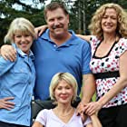 Set of Gabby's Wish with Adrienne King, Catherine Johnson, and Marcella Laasch