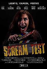 Scream Test Poster